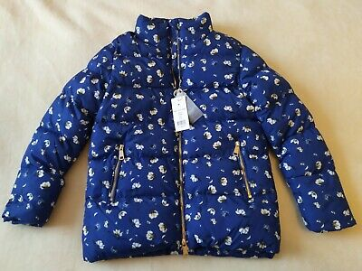 Girls Winter Puffa Jacket Coat The New Size 9-10 Years New With Tags