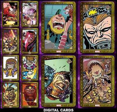Topps Marvel Collect TOPPS SHOWCASE MODOK [12 CARD LIMITED SET]