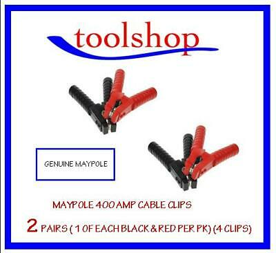 Genuine Maypole Booster Cable / Jump Lead Clip Clamp 400 Amp. Heavy Duty