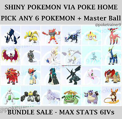ANY 6✨SHINY✨Pokemon Sword And Shield SHINY 6IV Mewtwo Melmetal Incineroar 🚀