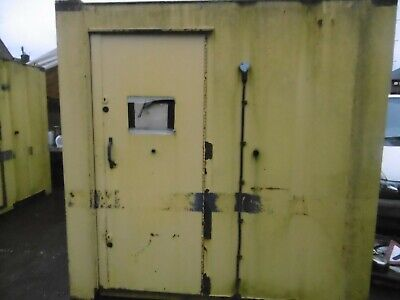 Steel Container Site Office Shed Save Strong Box  Secure Storage 12Ft X 8Ft
