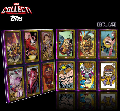 2020 A.I.M. MODOK SHOWCASE CARD SET OF 12 Topps Marvel Collect