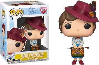 FUNKO POP MARY POPPINS WITH BAGS 467 MARY POPPINS RETURNS FIGURE 9 CM CINEMA #1
