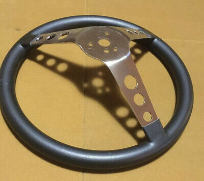 VTG 3 Spoke Steering Wheel Rat Hot Rod Custom Free Shipping