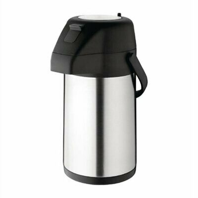 Olympia Stainless Steel Topped Pump Action Airpot 1.9Ltr CN640 [485I]