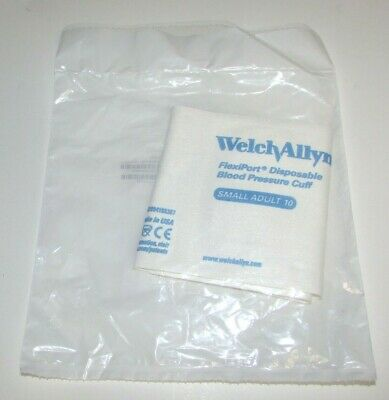 Welch Allyn 901044 FlexiPort Small Adult 10 Disposable Blood Pressure Cuff