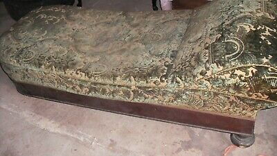 Antique Fainting Couch - In Need of Refurbishment