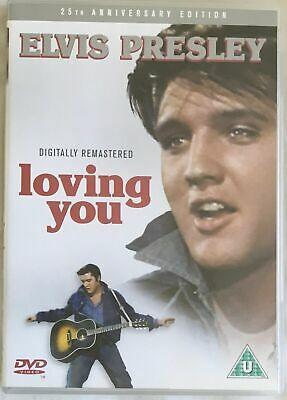 Elvis Presley Loving You DVD 25th Anniversary Edition Musical Film Movie