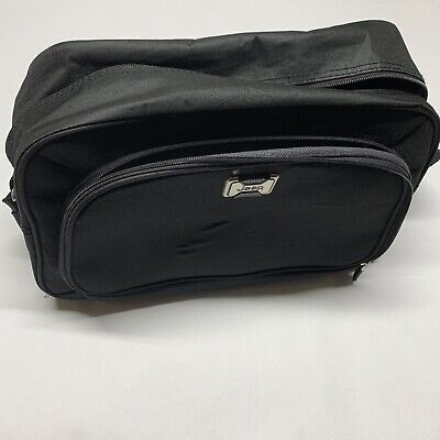 Jeep Nylon Bag Black Carry on Shoulder Strap Office Business Travel Gym Duffle