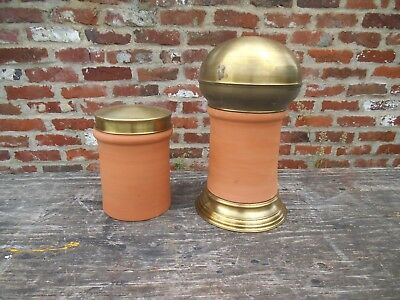 Terracotta and Brass Pots (Wholesale Lot)