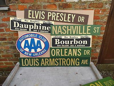 New Orleans/Music theme Signs