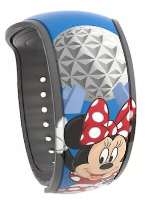 Disney 2020 Annual Passholder Limited Release Minnie Mouse & Epcot MagicBand NEW