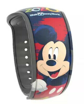Disney Parks Icons Mickey Mouse 2020 Limited Release Magic Band MagicBand NEW