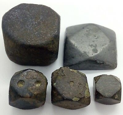 Bronze  trading weight for scales 5pc. 300AD. Viking