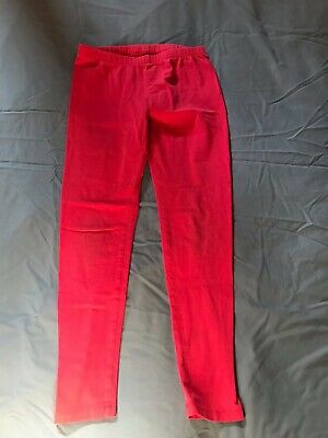 Girls Size 12 Pink Leggings with Elastic Waist Circo
