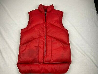 Vtg Eastern Mountain Sports Puffer Vest, Size Xs, Euc