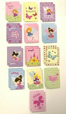 Fairies Snap Playing Cards Children Kids Picture Flash Cards Gift Ideas Infants