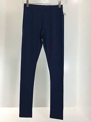 Carters Kid Girls Youth Elastic Waist Tapered Leg Knit Leggings Navy 10/12 NWT @