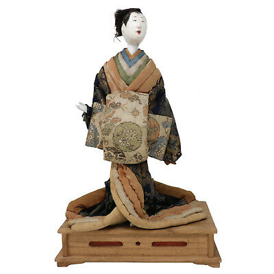 Antique Japanese Kabuki Actor Takeda Ningyo
