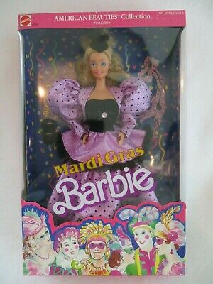 Barbie Mardi Gras Doll 1987 #4930 American Beauties Collection NRFB