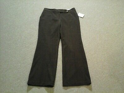 Calvin Klein,NWT,brown Classic Fit stretch dress pants,womens 10, So Soft!
