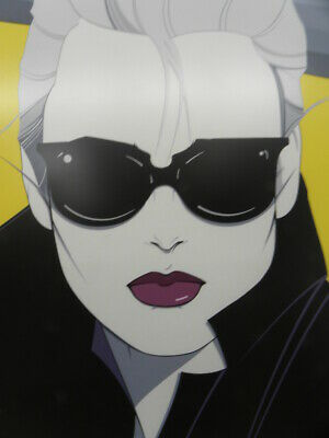 "/""Commemorative #5/"" by Patrick Nagel,1985 Serigraph NC5 B-1 Gallery Santa Monica"