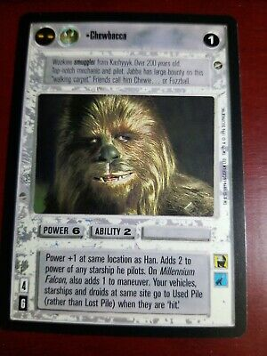 Star Wars CCG BB A New Hope Limited Brainiac NrMint-MINT SWCCG