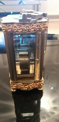 French Antique Victorian Clock