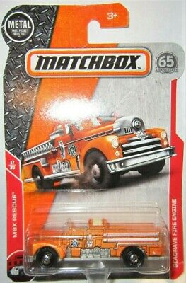 Matchbox MBX Superfast 2018 No 72 Seagrave Fire Engine short blister card