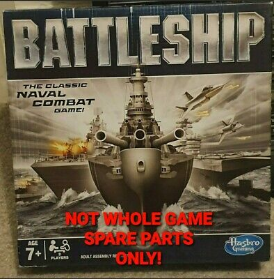 Battleship Family Board Game Hasbro 2012... Choose Your Playing Pieces