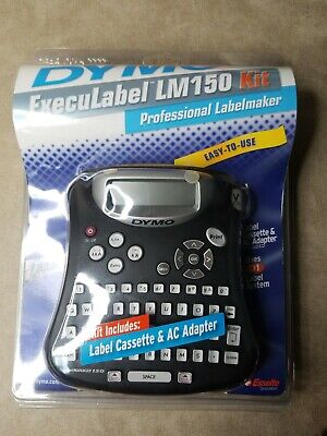 Dymo Execulabel LM 150 Kit Professional Labelmaker Easy to Use.         shelf #4