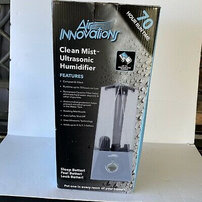 AIR INNOVATIONS CLEAN MIST ULTRASONIC HUMIDIFIER MH-513 V34017 New Open Box