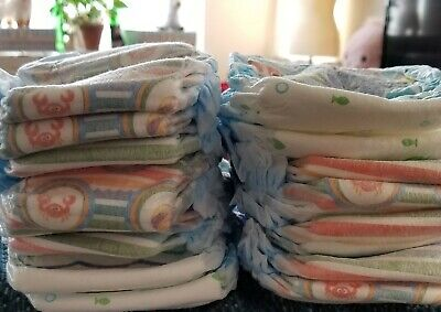 New Lot of 11 Pampers Splashers And 4 Huggies Little Swimmers Swim  Diapers 3-4