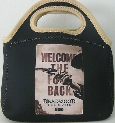 Deadwood The Movie Hbo 2019 Welcome The F**K Back Promo Neoprene Lunch Tote Bag