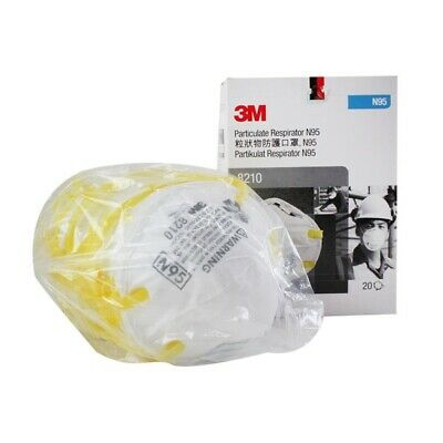3M 8210 N95 Particulate Respirator Mask 20EA / Box Exp 01/2025 Express Shipping
