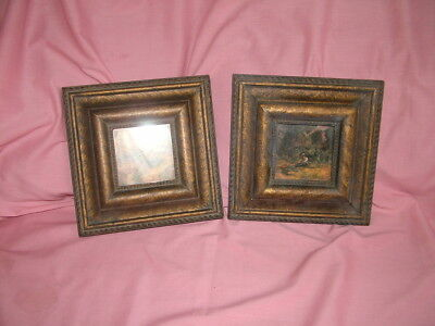 pair gothic picture frames