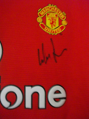 Wes Brown  Autographed Manchester Utd. Shirt