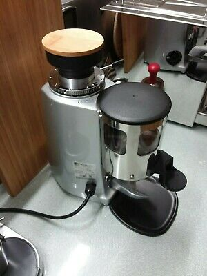 Mazzer Mini Auto Bean Coffee Grinder, New Burrs Fitted, New Tray, Lens Hood inc.