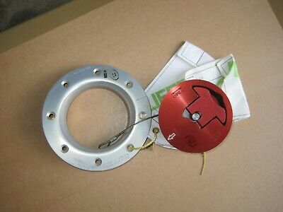 Genuine AIRCRAFT Filler Cap with adaptor collar , UNUSED , VERY RARE, cafe racer