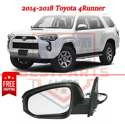 Power Heat Signal BSM Puddle Mirror LH Driver Side for Toyota Highlander