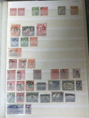 3 Page Stamp Collection British Empire Commonwealth Victorian To 1960s