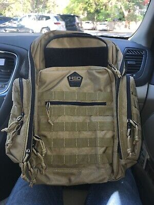 High Speed Daddy Tactical Diaper Backpack In Ranger Green NWOT