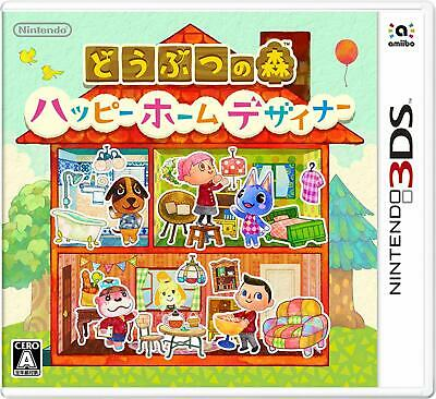 Animal Crossing Happy Home Designer 3DS Nintendo Nintendo 3DS From Japan