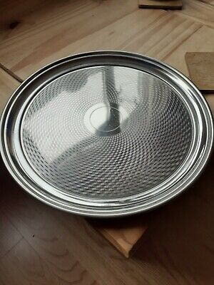Vintage Firth Stay Brite Stainless Steel Serving   Tray V.g.c