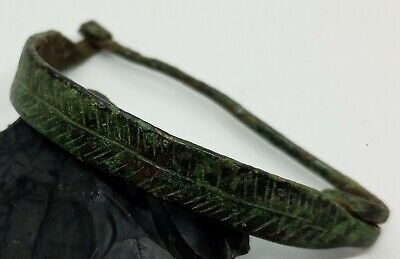 Art Bronze Fibula Ornament / Celtic Scythians Koban 1000BC.