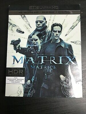 the matrix 4k + Blu-Ray