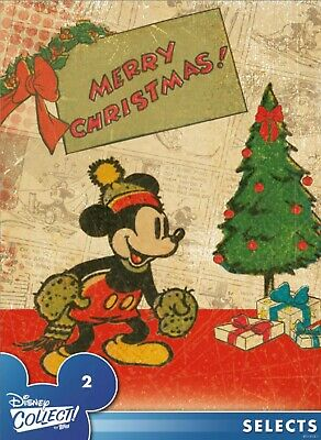 Disney Collect Topps Digital Selects -  #2 Mickey Mouse Christmas - Single