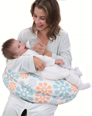 i-baby Breast Feeding Pillow 4 in 1 Baby Nursing Pillow with Cotton Knitted Full