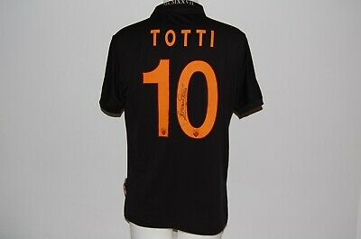 Maglia Roma  Totti 10 Jersey Third Signed Shirt 2013-2014