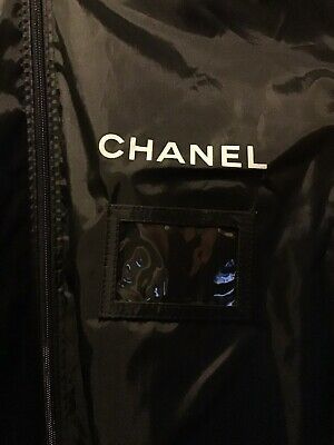2 Chanel Canvas Garment Bags Long And Extra Long